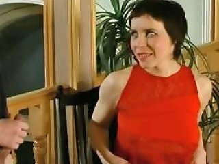 Brunette Russian Mom Gets A Young Buck To Bang Her On The Nuvid
